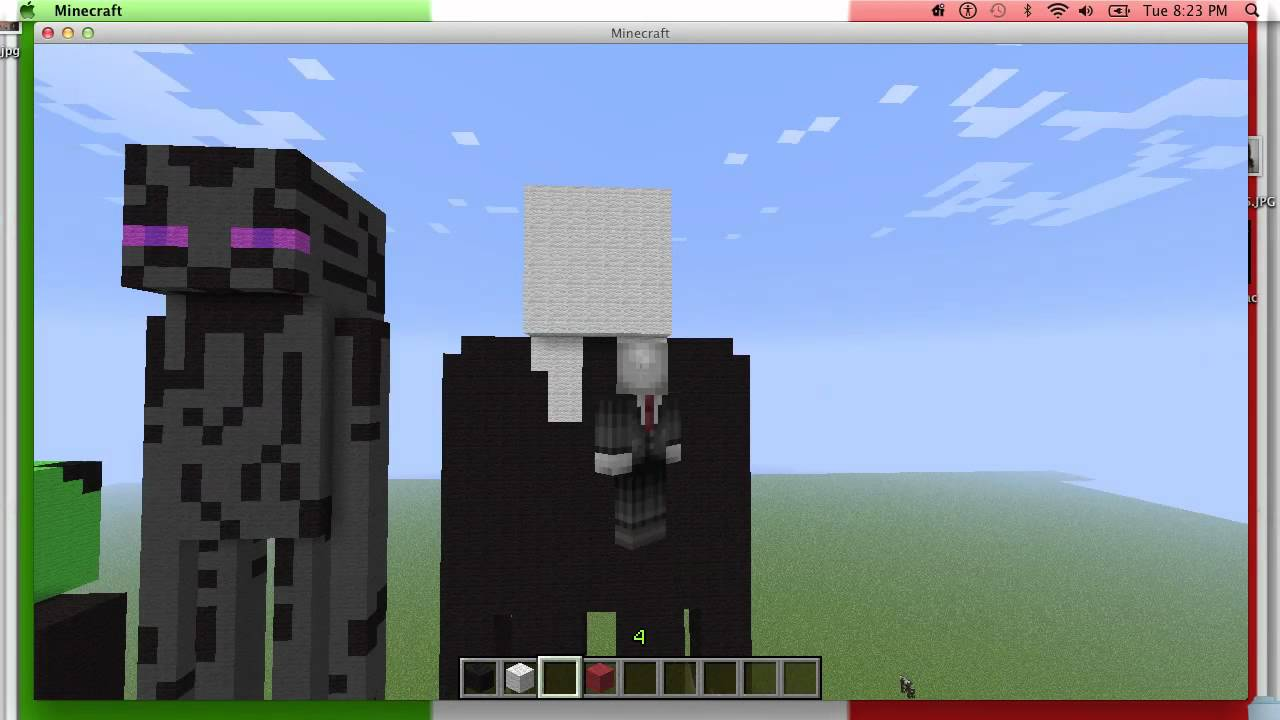 minecraft slenderman youtube