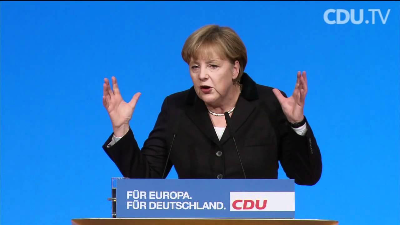 Rede Von Merkel