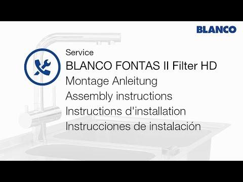 Blanco FONTAS II Filter