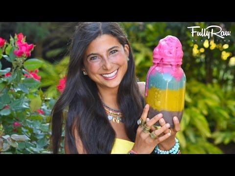 FullyRaw Rainbow Banana Ice Cream for Springtime & Easter!