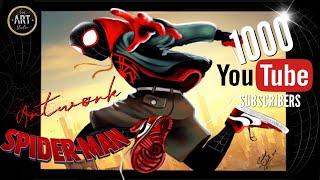 Spider-Man verse Digital Painting