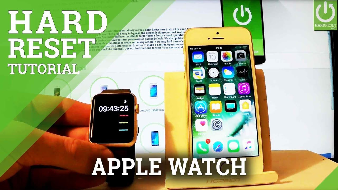 How to erase apple watch from iphone reset apple watch youtube how to erase apple watch from iphone reset apple watch ccuart Images
