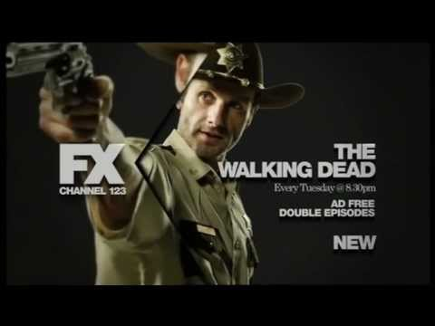 The Walking Dead // australian premiere FX promo