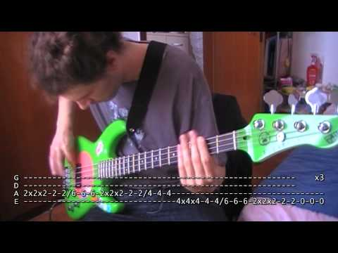 Close To Me bass TAB Cure