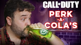 Perk-a-Cola's from Call of Duty| How to Drink