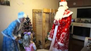 Конкурсы и представление Деда Мороза г. Псков<