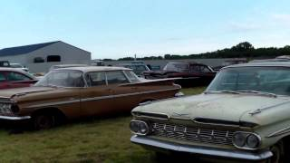 Lambrecht Chevrolet Auction Second Video Pierce Nebraska Rare Barn Finds New!