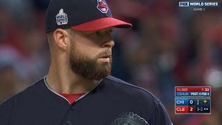 10/25/16: Kluber, Perez lead Indians to Game 1 win by : MLB