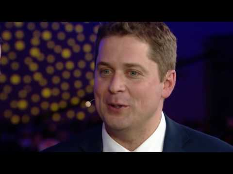 Andrew Scheer interviewed by CBC following his Conservative Party of Canada leadership victory