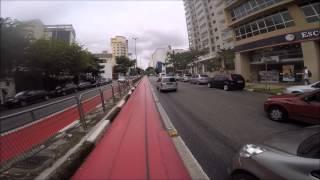 Passeio de Bike pelas Novas Ciclovias / Ciclofaixas de São Paulo