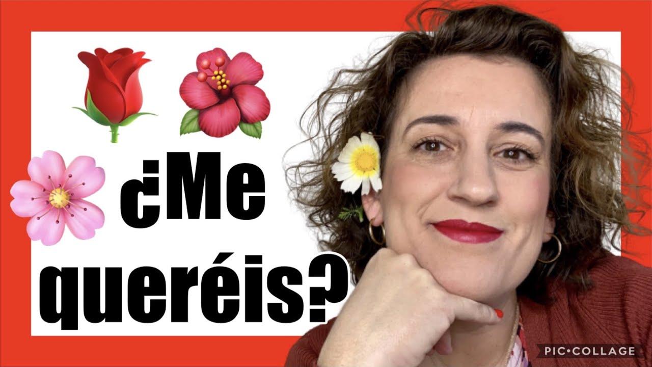 ❤️¡DESHOJANDO LA MARGARITA! 🌼🌼¿Cuáles son los NOMBRES de las FLORES comunes en español? La PRIMAVE