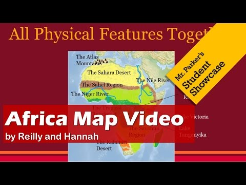 Africa Map Video
