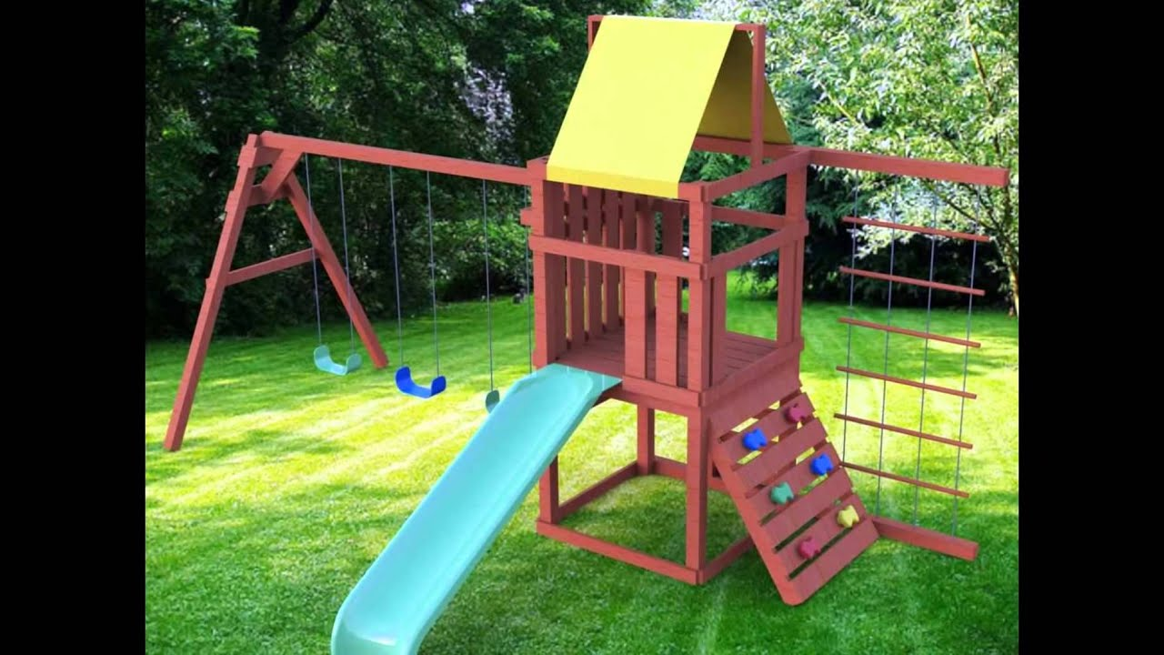 Playsets For Backyard