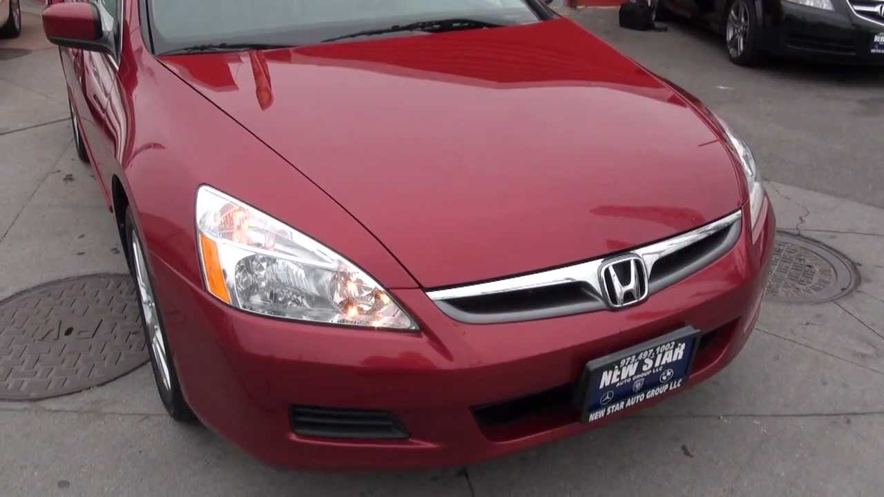 2007 honda accord v6 vtec ex sedan youtube. Black Bedroom Furniture Sets. Home Design Ideas
