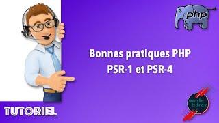 Miniature catégorie - Bonnes pratiques PHP - PSR-1 et PSR-4