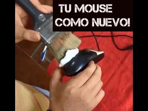 Sabes limpiar un mouse bien? ACA TE ENSEÑAMOS.  Serie mantenimiento 11