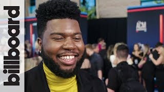 Khalid Talks Crossing Over Into Country Music & Working With Kane Brown | ACM Awards
