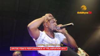 "ORITSE FEMI  PERFORMS ""IGBEYAWO"" AND ""DOUBLE WAHALA"" AT FELABRATION 2015 DAY 5"