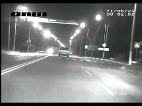 Авария в Чехове на видеорегистратор