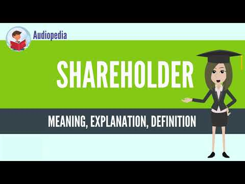 What Is SHAREHOLDER? SHAREHOLDER Definition & Meaning