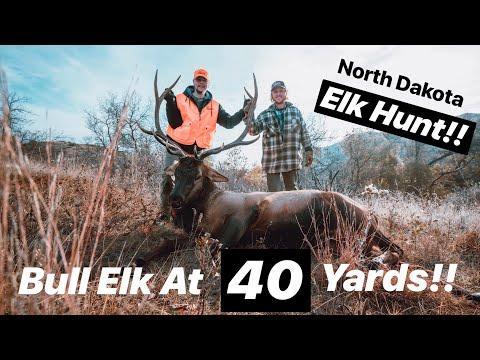 Elk At 40 Yards? - Filming A North Dakota Hunting Trip