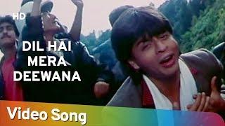 Dil Hai Mera Deewana Yaro Raju Ban Gaya Gentleman 1992 Shahrukh Khan Kumar Sanu