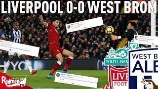 Video Gol Pertandingan Liverpool vs West Bromwich Albion
