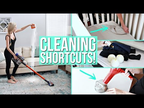 13 Game-Changing Cleaning Shortcuts!