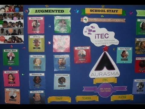 Augmented  School Staff  İTEC in Tevfik iLeri Secondary School, Turkey Ankara