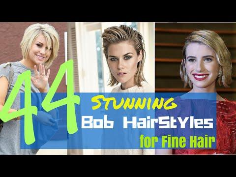 44 Stunning Bob Hair Styles for Fine Hair