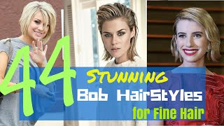 44 Stunning Bob HairStyles for Fine Hair 2015