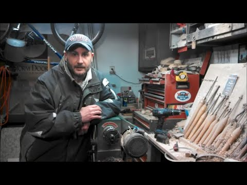 Woodturning Motor Repair Start Capacitor Youtube