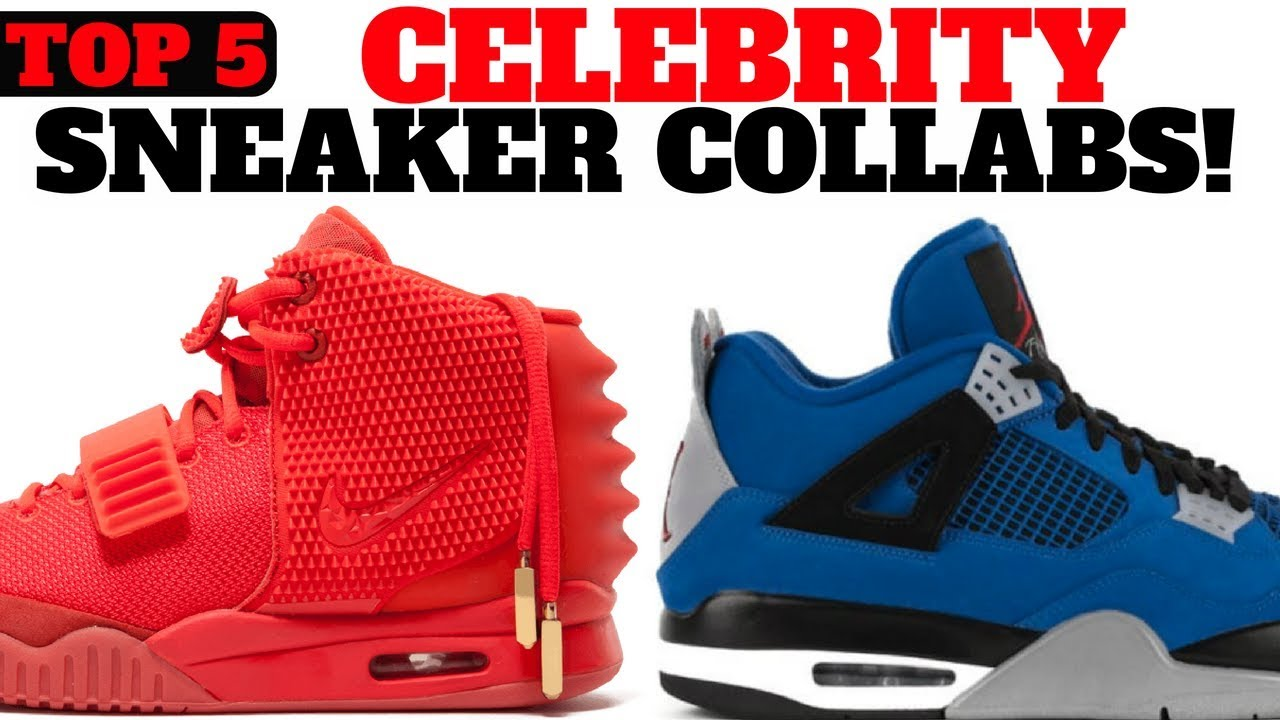 cozy fresh shopping best prices TOP 5 CELEBRITY SNEAKER COLLABORATIONS!