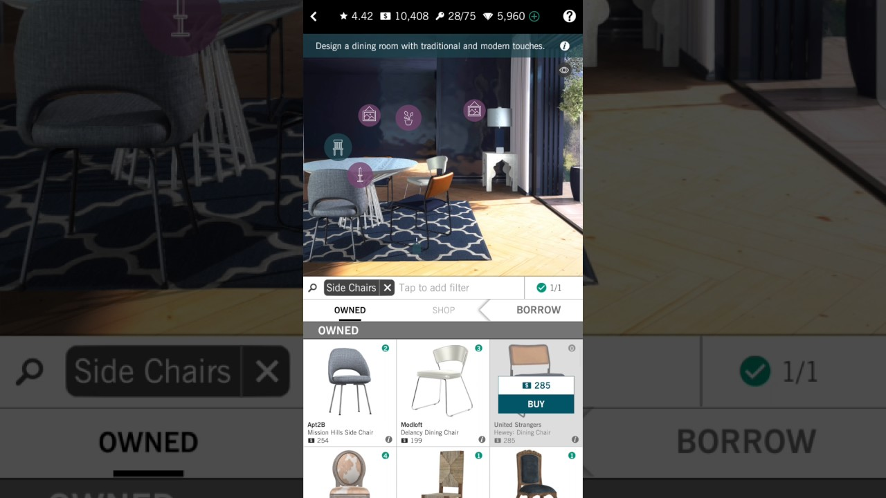 DESIGN HOME APP ANDROID GAME PLAY - YouTube