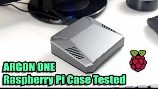 Argon One Raspberry Pi Case Tested - Thermal Testing VS FLIRC Case