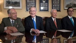 GOPers aim to pass tax bill, take another swing at ObamaCare thumbnail