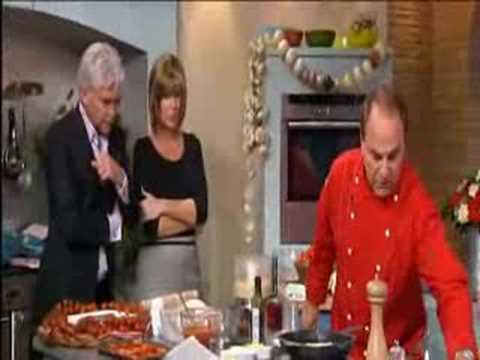 ANDY LORUSSO THE SINGING CHEF THIS MORNING SHOW THE UK