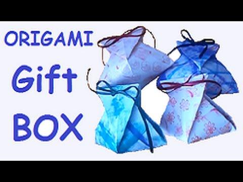 "Origami - Gift box ""Díszdoboz"" - YouTube - photo#11"