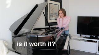 my new piano 😍   YAMAHA N3X AVANTGRAND PIANO REVIEW
