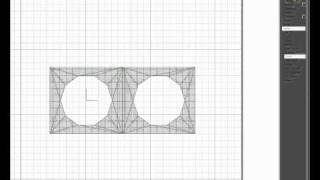 Making a Round Hole Grill Mesh