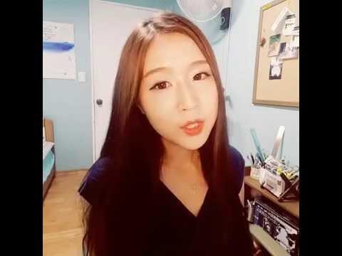 Cô gái Hàn Quốc cover Gửi anh xa nhớ