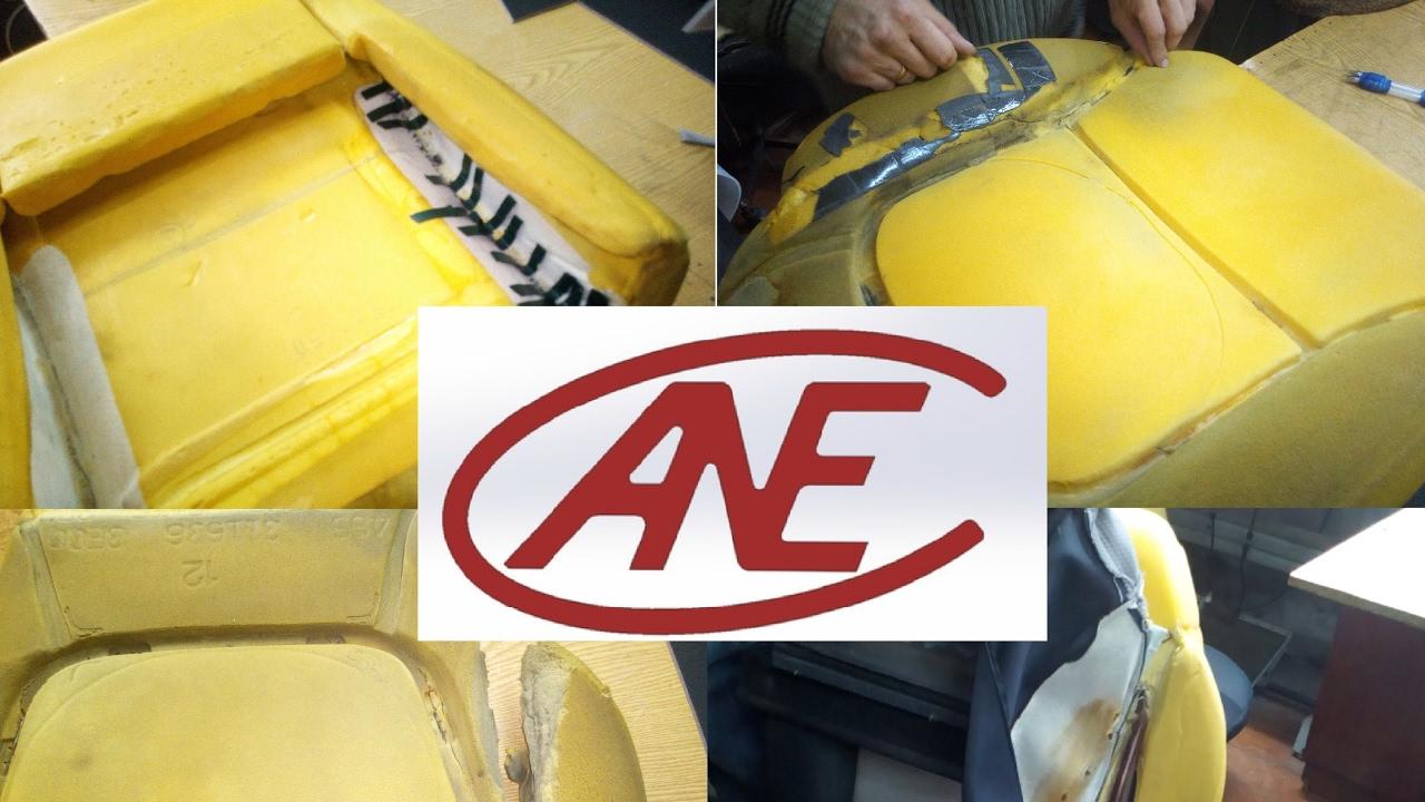 Перетяжка и ремонт убитых сидений Mitsubishi L200