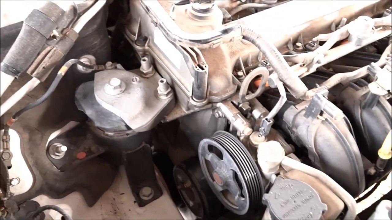2003 Mazda 6 Engine Belt Tensioner Pulley Rattle  RESOLVED   REPLACED     YouTube