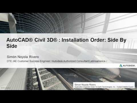 AutoCAD Civil 3D 2018 Installation Order Report Manager Issue
