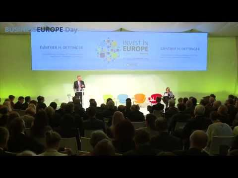 BusinessEurope Day 2015 - Invest in Europe - 26 March 2015, Brussels - Best-of