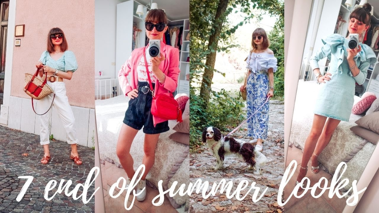 END OF SUMMER WEEK IN OUTFITS! 7 look da indossare adesso!!