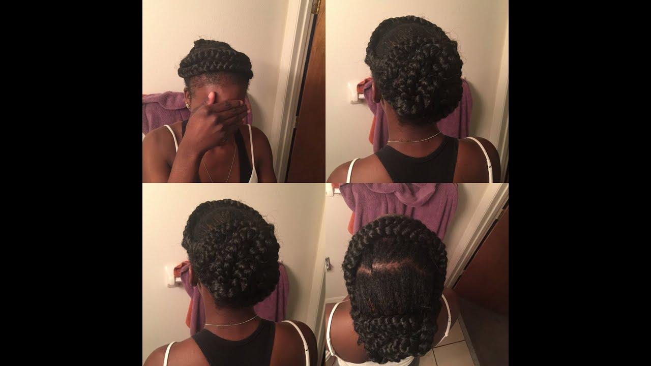 Natural Black Hair Braid Hairstyles