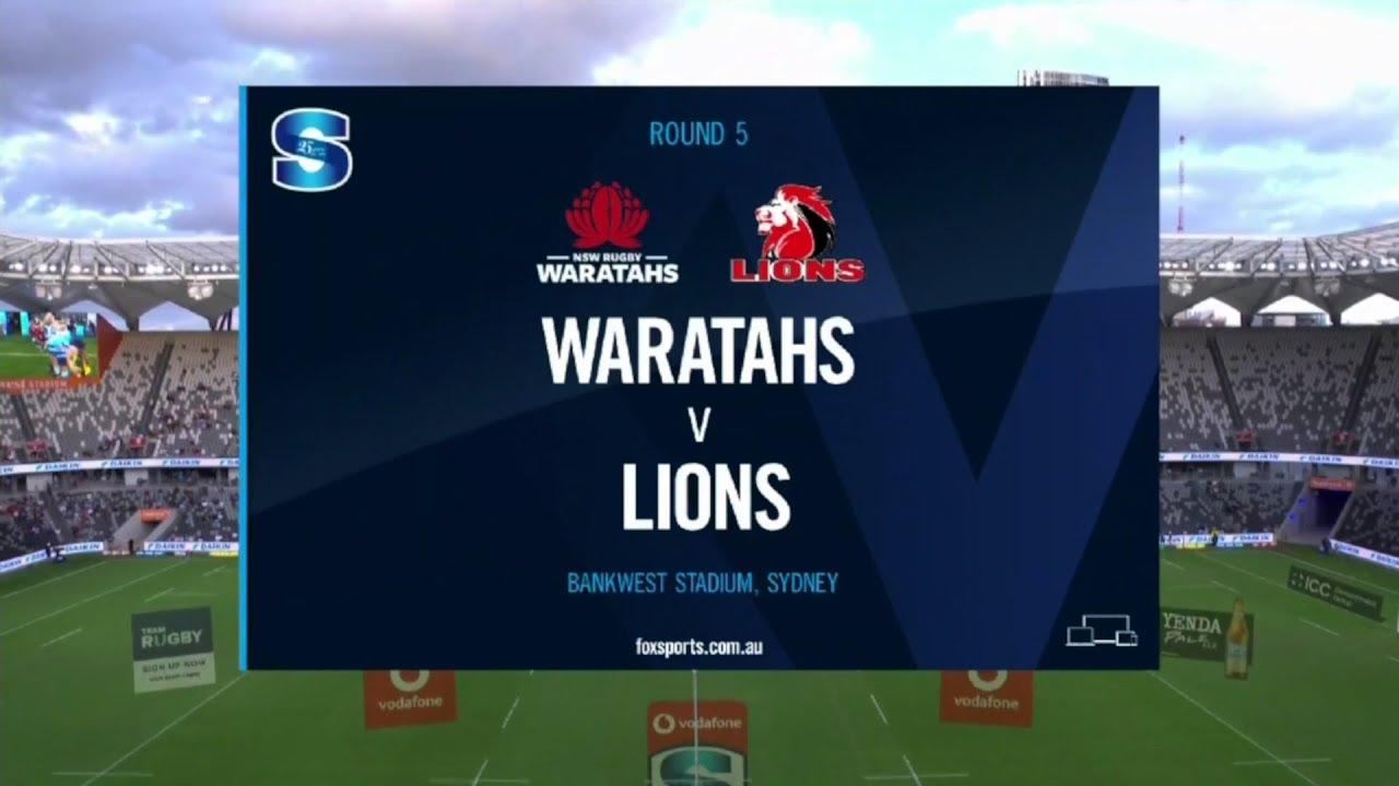 SuperSport   Super Rugby   Waratahs v Lions   Highlights - SuperSport