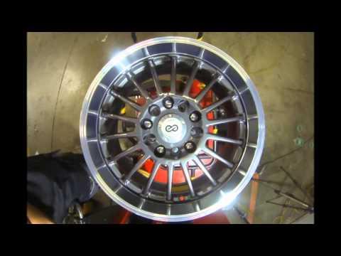 Enkei Wheels FN18 Gun Metal