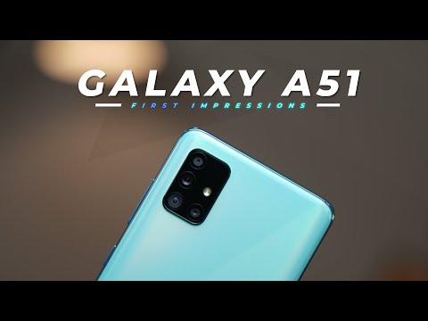 Samsung Galaxy A51 Unboxing and First Impressions!
